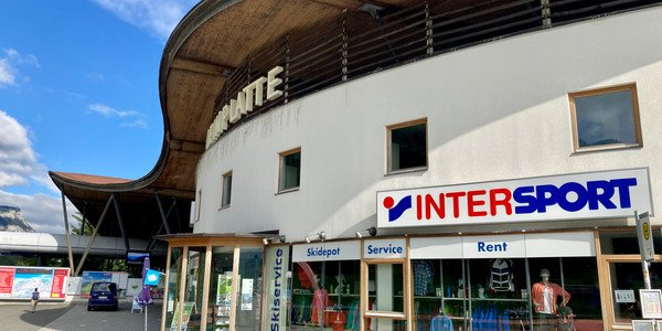 INTERSPORT Bikeverleih an der Talstation Steinplatte