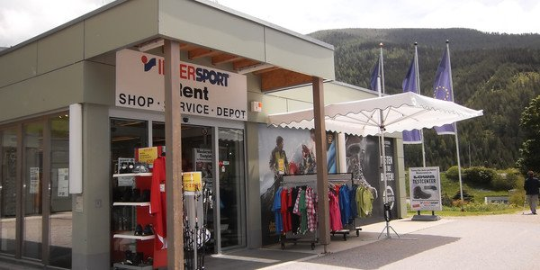 INTERSPORT Rent - Talstation Brunnach St. Oswald im Sommer