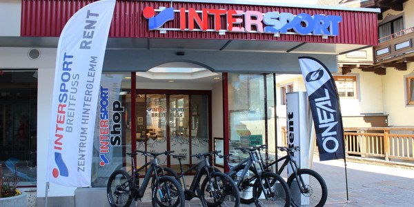 INTERSPORT Rent Filiale Breitfuss Hinterglemm Zentrum